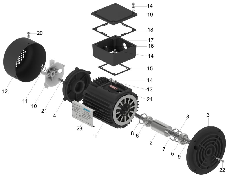 Ps2 600 Cs 17 1 Lorentz Pumps Power Schematic Motor