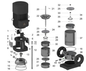 Ps2 1800 Cs F4 6 Pump End Lorentz Pumps