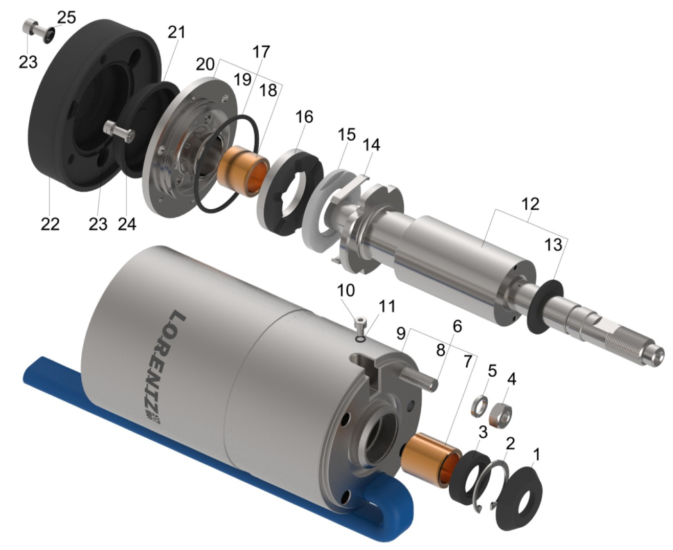 Ps2 1800 Hr 14 Motor Lorentz Pumps