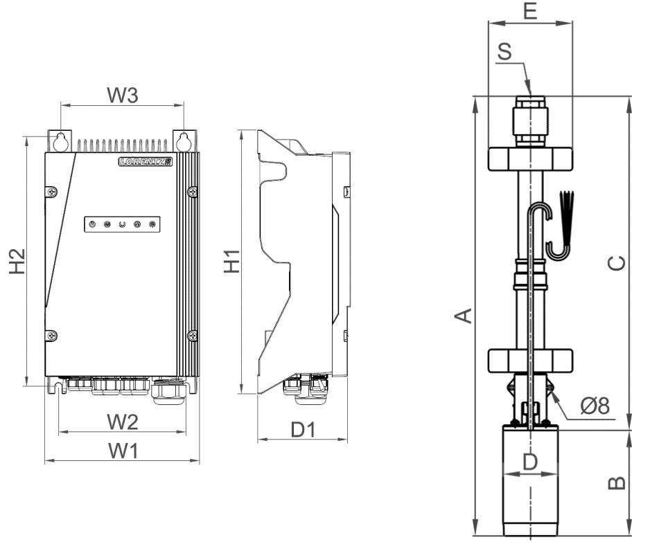 lorentz ps4000 hr-14hl submersible pump system
